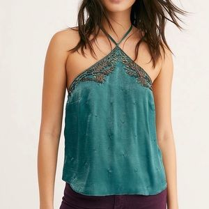 ⭐️Free People - Beaded Victoria Cami - Large NWT⭐️